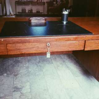 Narra office table