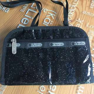 LeSportsac pouch with strap
