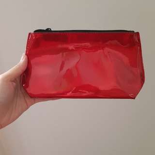 NEW Clio patent makeup bag