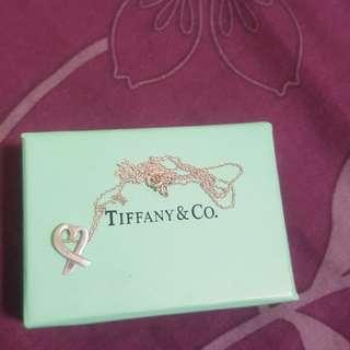 Tiffany愛心項鍊