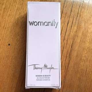 Thierry Mugler womanity shower gel