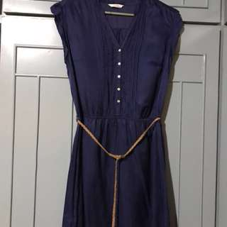 Promod navy dress