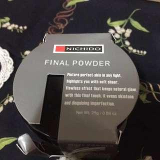 Nichido final powder (pink glow)