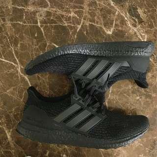 Adidas Ultraboost 3.0 triple black US12