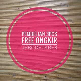 3pcs - Free Ongkir