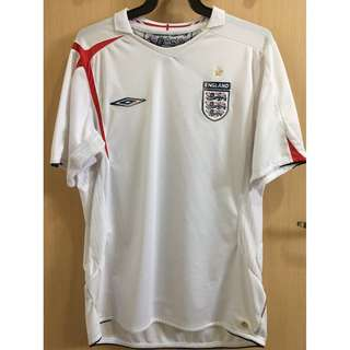 28eee3931 England Home Jersey (March 2005 to November 2006)