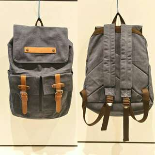 100% BN CANVAS BACKPACK
