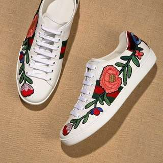 Gucci Ace Embroided Sneaker size 7