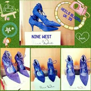 Heels Navy Blue
