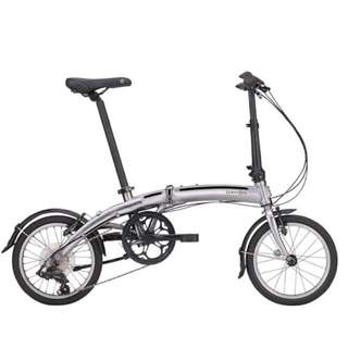 Dahon Japan Folding Bikes - Curved D7