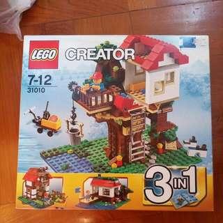 lego 31010 樹屋。未開盒。