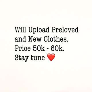 BAKAL UPLOAD BAJU PRELOVED LAGI!!!
