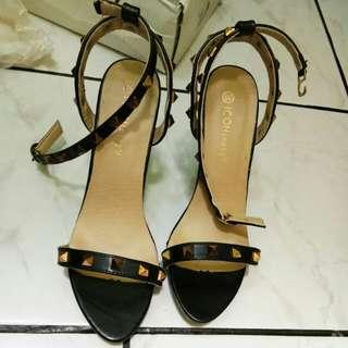 ICONinety9 Black Heels