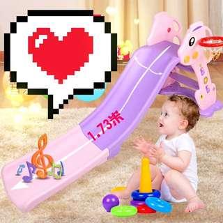 🎀免運費🎀可玩到10歲CP超高/兒童、幼兒滑梯滑梯室内家用樂園组合小型加厚加長