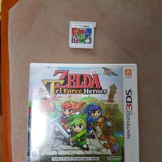 Brand New Tri Force Heroes 3DS