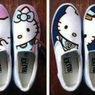 Buy 1 take 1  hand painted sneakers