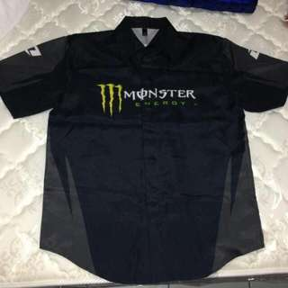 One Industries Monster Energy Pit Shirt (Medium)