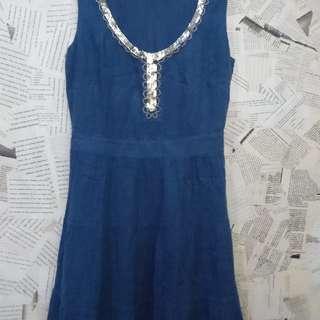 Blue Persian Dress