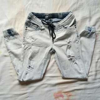 JAG distressed jogger pants