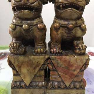 Stone lion 🦁 chinese fengshui