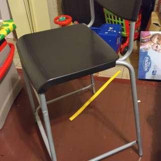 Ikea高腳椅 有修改高度 55公分更適合小孩