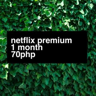 NETFLIX PREMIUM - 4 SCREENS ULTRAHD