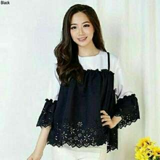 BLOUSE PAULINA BLACK