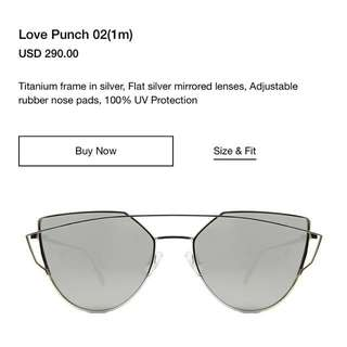 Brand New Silver Gentle Monster Love Punch 02