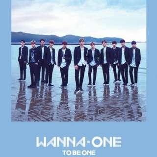 Wanna one 專輯 有團體小卡 團體大卡 空專