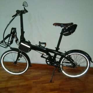 Cheap Upgraded Tern D7i Folding bike.