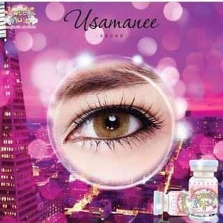 Softlens Sweety Plus Usamane Brown