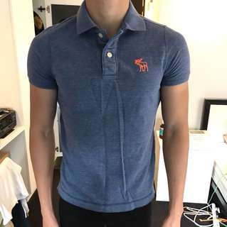 Abercrombie & Fitch polo tee