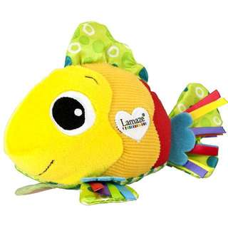 Feel me fish lamaze new baby infant development toy