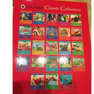 Ladybird classic tales box set series of 28 stories suitable for 3 - 5 y.o.