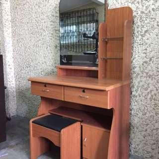 Dresser & Stool Set