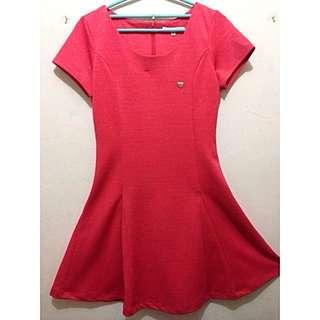 Surfer Girl Red Dress
