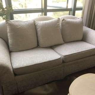 FREE large white sofa!