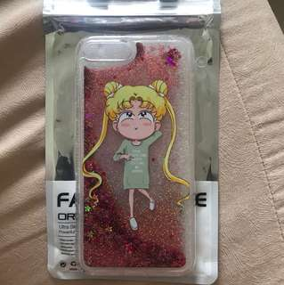 BN Sailor Moon IPhone 7+ Glittery Case