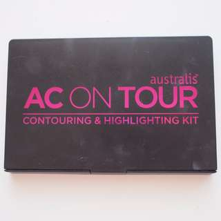 Australis AC on Tour Contouring & Highligting Palette