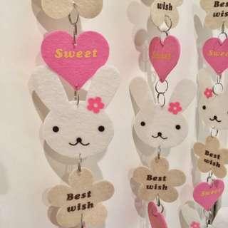 MEEQ Bunny Door Screen