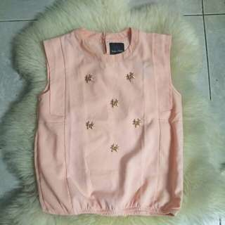 plains and prints pink top