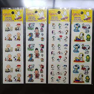 #IDoTrades BN Snoopy Stickers