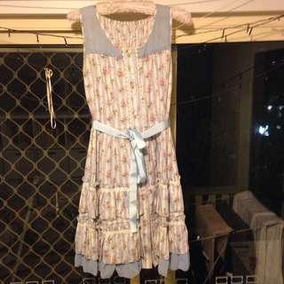 Floral Lolita dress size S