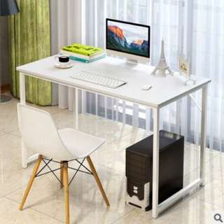 Simple Study Table (White)