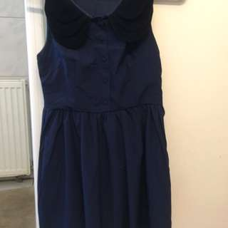 Navy dress size 10