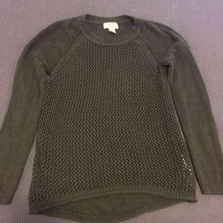 Khaki H&M Knit Jumper