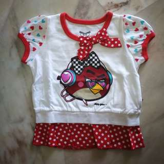 Angry Bird Baby Casual Wear