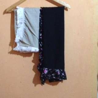 Pasmina & square hijab