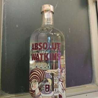 ABSOLUT WATKINS  spiced coffee and almond flavored