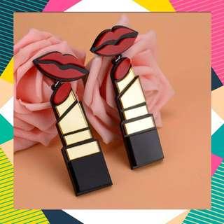 Sexy Lipstick earings